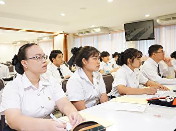 โครงการปรับพื้นฐานความรู้ด้านการโรงแรมและการบริการ